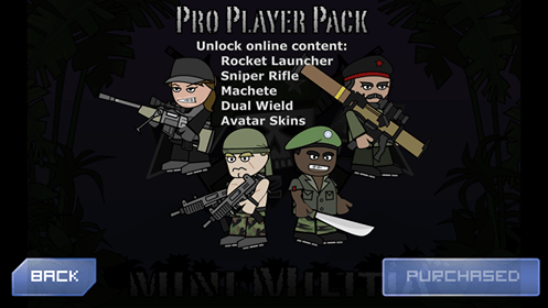 mini militia pro pack unlocked